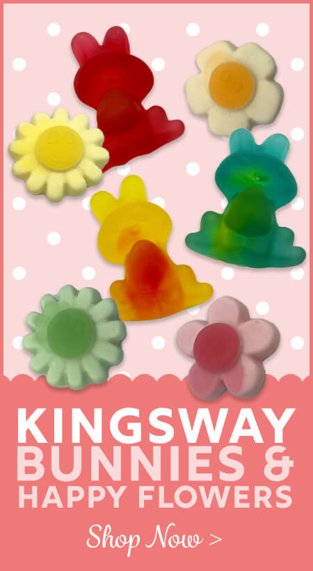 Kingsway Bunnies and Flowers