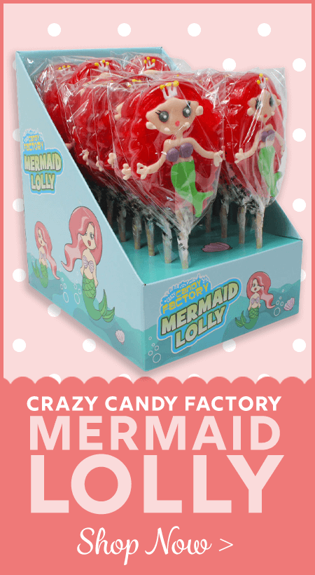Crazy Candy Factory Mermaid Lollies