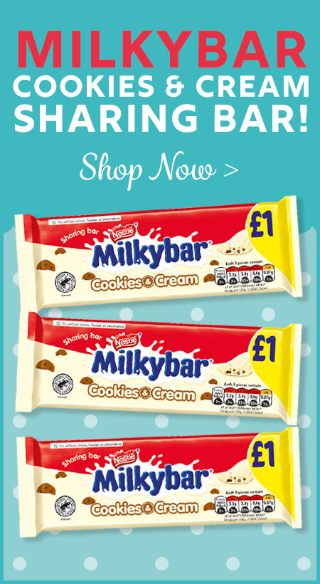 Milkybar Cookies & Cream Sharing Bar